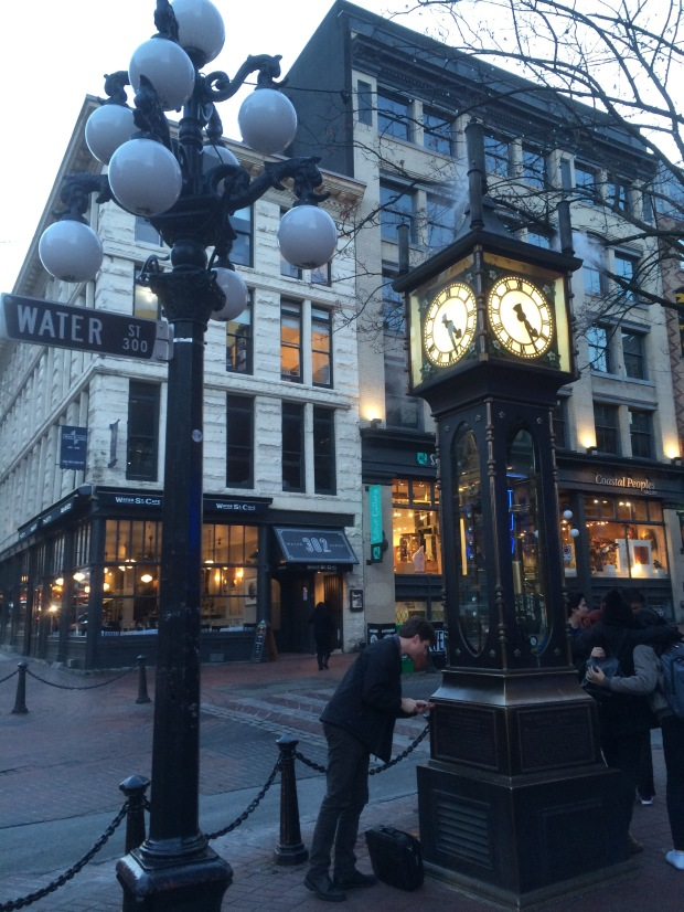 Steam Clock at Gaston in Vancouver.